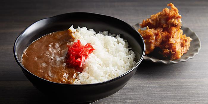 Chicken Katsu Curry from Jimoto-Ya in Chinatown, Singapore