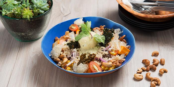 Coco Cashew Pomelo from KARA Cafe & Dessert Bar in Bukit Timah, Singapore