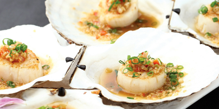 Steamed Scallops from Khao San @ Katong in East Coast, Singapore