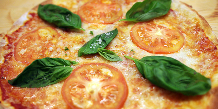 Margherita Pizza from Lowercase in Little India, Singapore