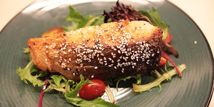 Salmon Teriyaki from Lowercase in Little India, Singapore