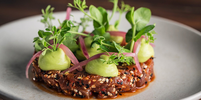 Tuna Tartare from Moosehead Kitchen & Bar on Telok Ayer Street in Raffles Place, Singapore