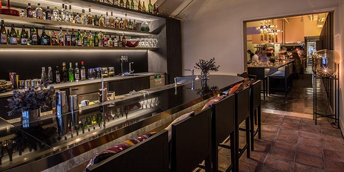 Bar Area of Nouri in Tanjong Pagar, Singapore