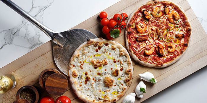 Pizza from Beach Road Kitchen in JW Marriott Hotel Singapore South Beach in City Hall, Singapore