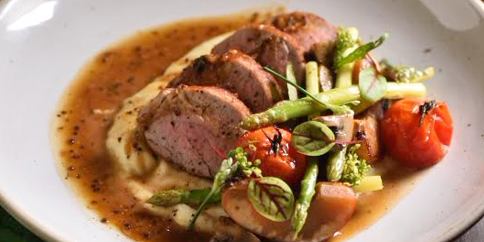 Pork Loin Steak from GISMO Coffee & Roasters at 39 Boulevard, Bangkok