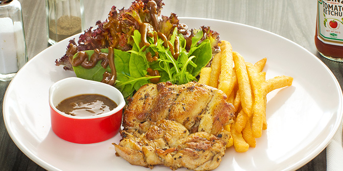 BBQ Chicken Chop from The Grumpy Bear at Thomson Plaza in Thomson, Singapore