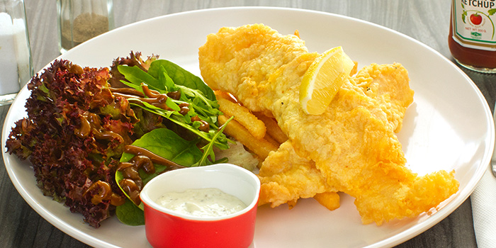 Fish & Chips from The Grumpy Bear at Thomson Plaza in Thomson, Singapore