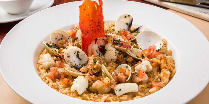 Seafood Risotto, Al Molo, Tsim Sha Tsui, Hong Kong
