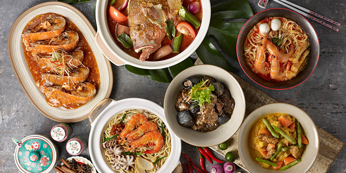 Asian Buffet Spread from Straits Cafe at Rendezvous Hotel in Dhoby Ghaut, Singapore