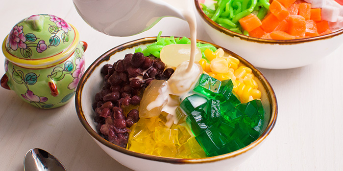 Chendol from Straits Cafe at Rendezvous Hotel in Dhoby Ghaut, Singapore