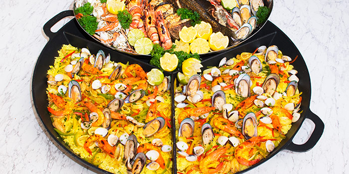 Seafood Paella from Straits Cafe at Rendezvous Hotel in Dhoby Ghaut, Singapore
