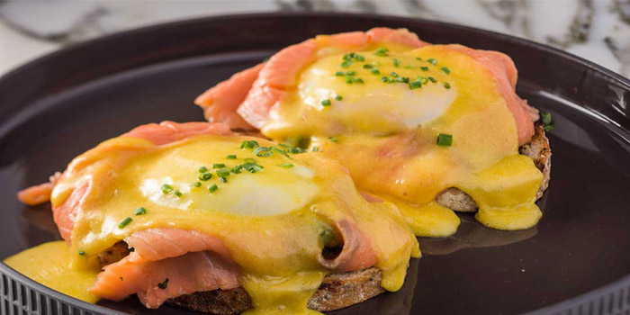 Smoked Salmon with Poached Egg, Alto, Causeway Bay, Hong Kong
