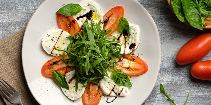 Caprese Salad from Se7enth at OUE Downtown 1 in Tanjong Pagar, Singapore
