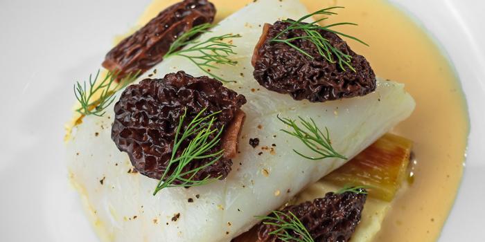 Skrei Cod Fish from Tables Grill Restaurant at Grand Hyatt Erawan, Bangkok