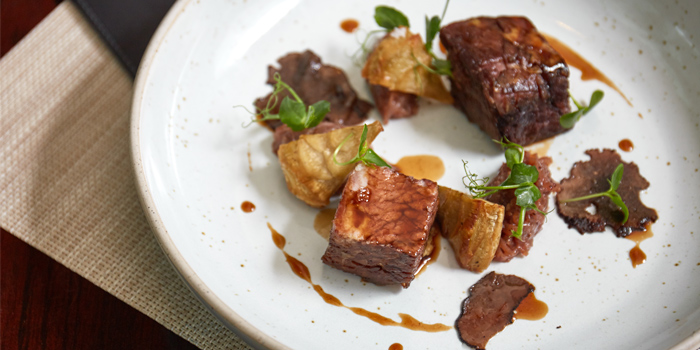 Smoked Beef Ribs Red Onion Jam from Niche at Siam Kempinski Hotel, Bangkok