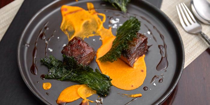 Smoked Beef Ribs Sticky Soy Glaze from Niche at Siam Kempinski Hotel, Bangkok