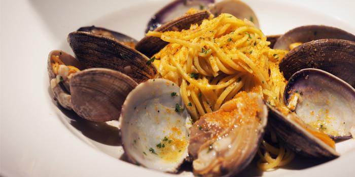 Spaghetti Al Granchio from Spasso Restaurant & Bar at Grand Hyatt Erawan, Bangkok