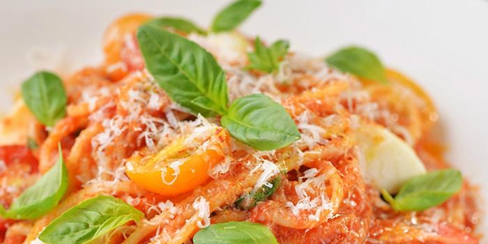Spaghetti with Fresh Mozzarella, Mercato, Central, Hong Kong
