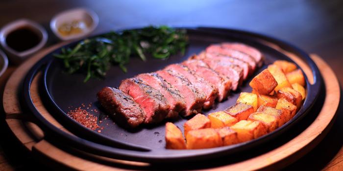 Steak from Sensi Restaurant in Narathiwat Soi 17, Bangkok