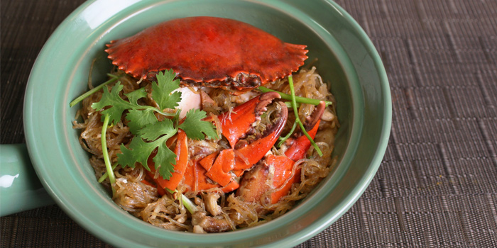Steamed Crab With Glass Noodle from Mango Tree Surawong in Surawong Road, Bangkok