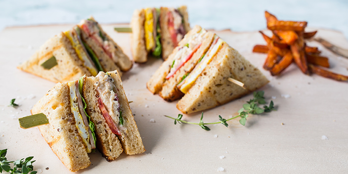 Club Sandwich from The Marmalade Pantry (Novena) at Oasia Hotel Novena in Novena, Singapore