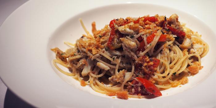 Tagliolini Vongole E Bottarga from Spasso Restaurant & Bar at Grand Hyatt Erawan, Bangkok
