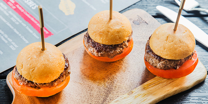 Beef Sliders from The Fine Line in Holland Village, Singapore