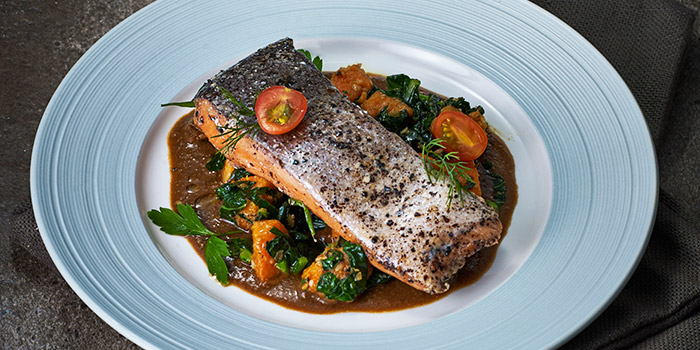 Grilled Salmon from Thrive Kitchen in West Coast, Singapore
