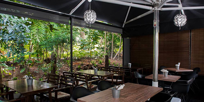Outdoor Area of Thyme @Rochester in Rochester, Singapore