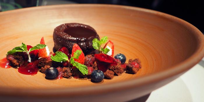 Tortino Al Cioccolato from Spasso Restaurant & Bar at Grand Hyatt Erawan, Bangkok