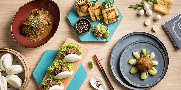 Weekend Brunch Spread from Baba Chews Bar and Eatery in Hotel Indigo Singapore Katong in East Coast, Singapore