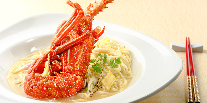 Lobster Mee Sua from WOK15 Kitchen in Sentosa, Singapore