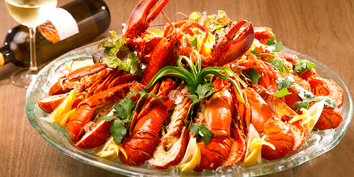 Lobster Platter, Cafe Rivoli, Causeway Bay, Hong Kong