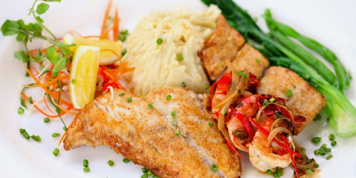 Seafood Signature Trio at Meads in Bali
