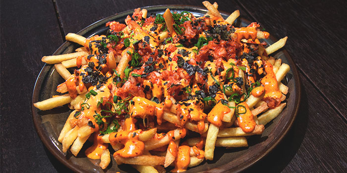 Kimchi Fries from 63Celsius (Asia Square) in Asia Square in Raffles Place, Singapore