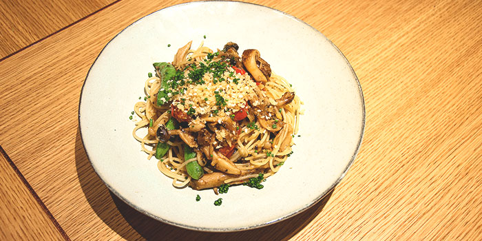 Vegetarian Pasta from 63Celsius (Asia Square) in Asia Square in Raffles Place, Singapore