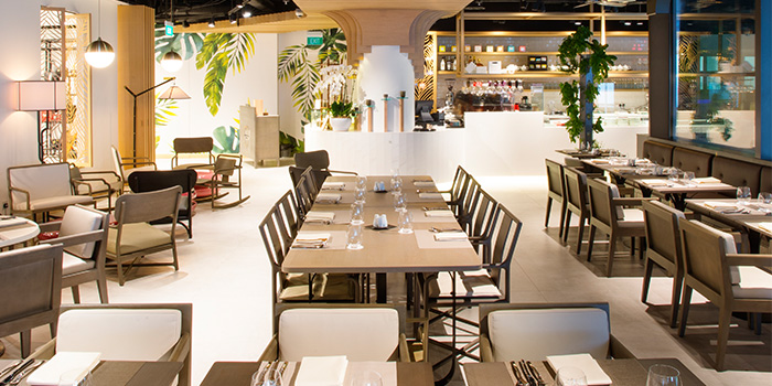 Interior of Angela May Food Chapters in Orchard, Singapore