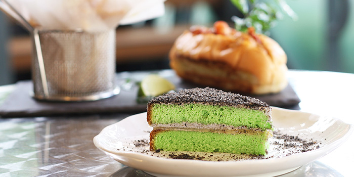Pandan Genoise from Angela May Food Chapters in Orchard, Singapore