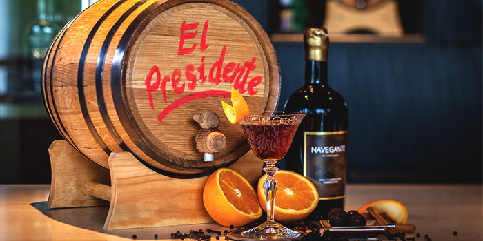 Barrel-Aged El Presidente from Bob