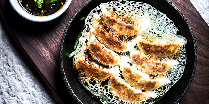 Crispy Gyoza from Birds of a Feather in Chinatown, Singapore
