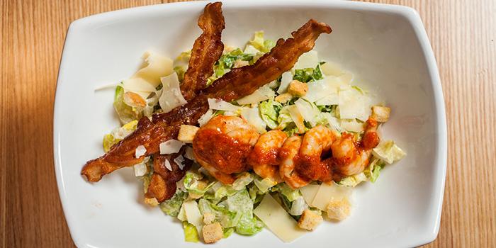 Caesar Salad with Fishermans Whalf Shrimp, Cali-Mex Bar and Grill of Sai Wan Ho, Hong Kong