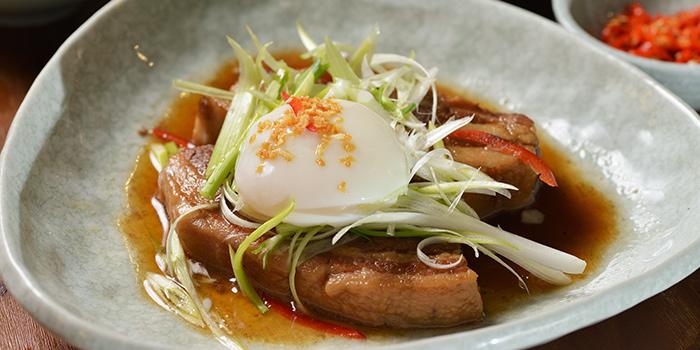 Caramelized Kurobuta Pork Belly with 63 Egg, Moi Moi by Luke Nguyen, Central, Hong Kong