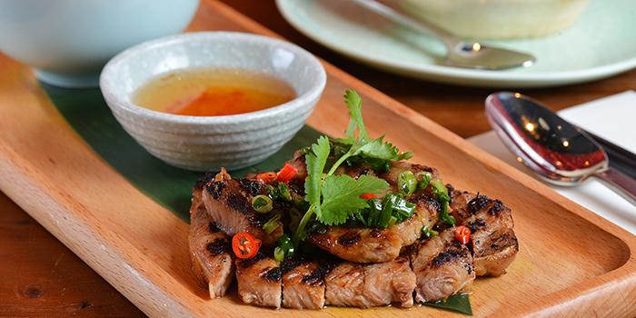 Chargrilled Kurobuta Pork Cuttet, Moi Moi by Luke Nguyen, Central, Hong Kong