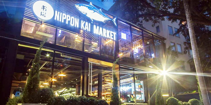 Exterior of Nippon Kai Market - Thonglor Soi 9 at 9:53 Community Mall in Sukhumvit Soi 53, Bangkok