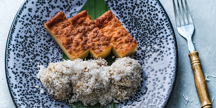 Kueh Kosui from Folklore in Destination Singapore Beach Road in Lavender, Singapore