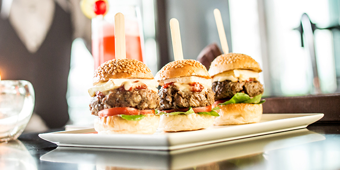 Beef Sliders from Lobby Lounge & Bar at Holiday Inn Singapore Orchard City Centre in Orchard, Singapore