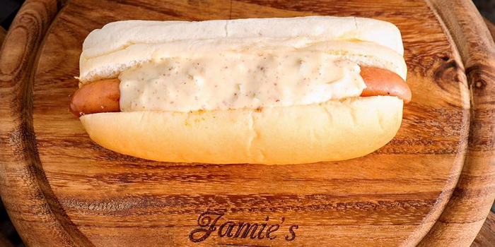 Hotdog with Special Sauce from Jamie
