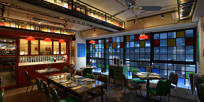 Dining Area, Lee Lo Mei, Central, Hong Kong