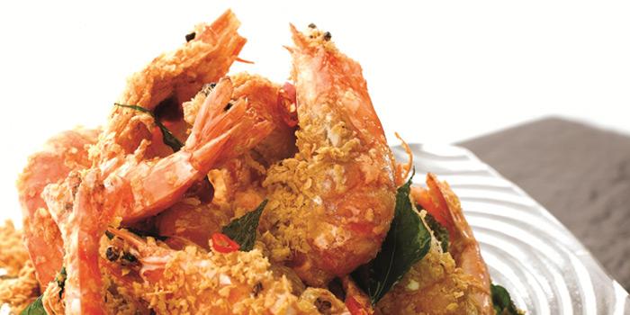 Cereal Prawns from JUMBO Seafood East Coast in East Coast, Singapore