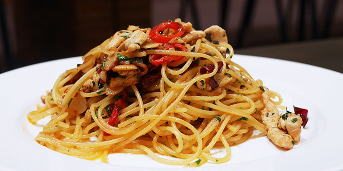 Aglio Olio from Kith Cafe (Bukit Timah) in Bukit Timah, Singapore